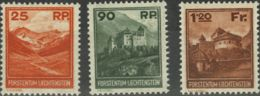 Liechtenstein. MNH **Yv 111/13Yv . 1933. Serie Completa. MAGNIFICA. Yvert 2012: 950 Euros. - Liechtenstein