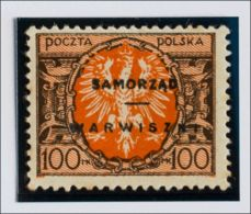 Lituania, Ocupación Polaca. MH *Yv 2. 1923. 100 M Castaño Y Naranja (manchitas Del Tiempo). BONITO Y RARO. Yvert 2015: 7 - Lituania