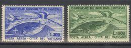 Vaticano, Aéreo. MNH **Yv 18/19. 1945. Serie Completa. MAGNIFICA. Yvert 2013: 225 Euros. - Vaticano (Ciudad Del)