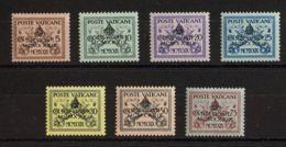 Vaticano. MNH **Yv 85A/G. 1939. Serie Completa. MAGNIFICA. Yvert 2016: 200 Euros. - Vaticano (Ciudad Del)