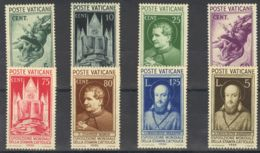 Vaticano. MNH **Yv 74/79. 1936. Serie Completa. MAGNIFICA. Yvert 2013: 480 Euros. - Vaticano (Ciudad Del)