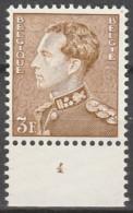 Belgie  .   OBP  .  847   . Planche 4      .    **    .       Postfris  .   /   .    Neuf SANS Charniere - Unused Stamps
