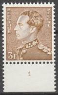 Belgie  .   OBP  .  847   . Planche 1      .    **    .       Postfris  .   /   .    Neuf SANS Charniere - Unused Stamps