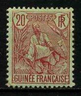 GUINEE FRANCAISE - YT 24 * - TIMBRE NEUF * - Guinée Française (1892-1944)