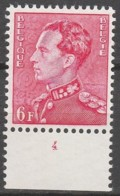Belgie  .   OBP  .  848   . Planche 4      .    **    .       Postfris  .   /   .    Neuf SANS Charniere - Unused Stamps