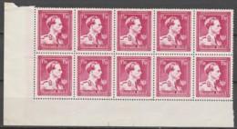 Belgie  .   OBP  .  691 10x .  Impression Dépouillée     .    **    .       Postfris  .   /   .  Neuf SANS Charniere - Unused Stamps