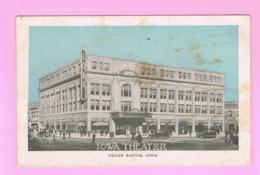 U.S.A. IOWA. CEDAR RAPIDS. IOWA THEATER. - Cedar Rapids