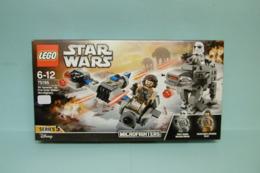 Lego Star Wars - Microfighter Ski Speeder Vs. Quadripode Du Premier Ordre Réf. 75195 Neuf En Boîte - Lego