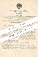 Original Patent - Düsseldorfer Krahnbaugesellschaft Liebe Harkort MbH , Oberkassel , Düsseldorf | Kupplung | Eisenbahn - Historische Dokumente