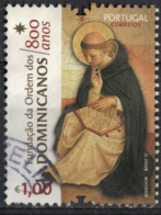 Portugal 2017 Oblitéré Used 800 Ans Fondation De L'Ordre Des Dominicains SU - 1910-... République