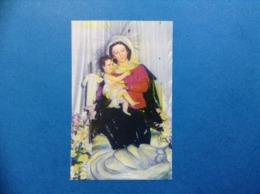 Santino Holy Card Image Pieuse Beata Vergine Maria - Santini