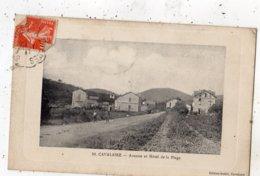 CAVALAIRE-SUR-MER AVENUE ET HOTEL DE LA PLAGE  (EDITION DE LUXE) - Cavalaire-sur-Mer