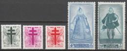 Belgie  .   OBP  .     787/791       .    **    .  Postfris  .   /   .  Neuf SANS Charniere - Unused Stamps
