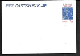 2421-CP1 - Centenaire De L'érection De La Statue De La Liberté - Postwaardestukken