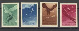 Hungría, Aéreo. MNH **Yv 53/56. 1943. Serie Completa. SIN DENTAR. MAGNIFICA. Yvert 2012: 200 Euros. - Hungary