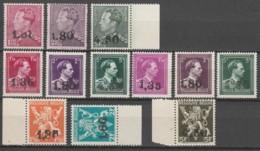 Belgie  .   OBP  .    724X/724W  .  Keur/signé       .    **    .  Postfris  .   /   .  Neuf SANS Charniere - Unused Stamps