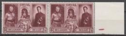 Belgie  .   OBP  .    518-V1  Paar      .    **    .  Postfris  .   /   .  Neuf SANS Charniere - Unused Stamps
