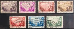 Bélgica. ºYv 356/62. 1932. Serie Completa. MAGNIFICA. Yvert 2011: 125 Euros. - Bélgica