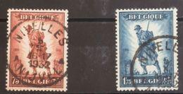 Bélgica. ºYv 351/52. 1932. Serie Completa. MAGNIFICA. Yvert 2011: 160 Euros. - Bélgica