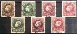 Bélgica. ºYv 289/92A. 1929. Serie Completa (tiradas De París Y Malinas). MAGNIFICA. Yvert 2011: 179 Euros. - Bélgica