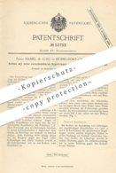 Original Patent - Haniel & Lueg , Düsseldorf / Grafenberg , 1890 , Kolben | Kolbenring | Maschinen , Motor !! - Historische Dokumente
