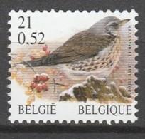 Belgie  .   OBP  .    2987P8a     .    **    .  Postfris  .   /   .  Neuf SANS Charniere - Feuillets