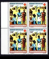 Central African Republic 1972 MNH Blk 4, Red Cross, First Aid, Medicine Help - Rotes Kreuz