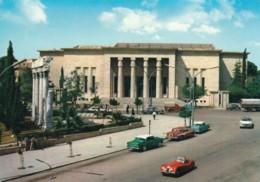 Beirut Beyrouth Lebanon, The Museum, Jaguar Sports Car Street Scene, C1950s Vintage Postcard - Lebanon