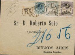 España. Alfonso XIII Correo Certificado. Alfonso XIII Correo Certificado. Frontal. MAGNIFICA. - 1889-1931 Reino: Alfonso XIII