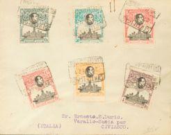 España. Alfonso XIII Correo Certificado. Sobre 297/09. 1921. Serie Completa En Dos Cartas Filatélicas, Ambas De MADRID A - 1889-1931 Reino: Alfonso XIII