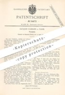 Original Patent - Jacques Ullmann , Paris , Frankreich , 1885 , Telefon | Telephon | Telefonie | Elektrik , Magnet !!! - Historische Dokumente