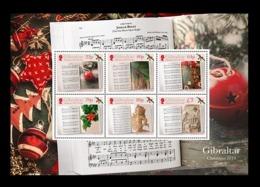 Gibraltar 2019 Mih. 1933/38 (Bl.140) Christmas Carols MNH ** - Gibilterra