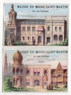 Chromo  MAISON DU MOINE SAINT MARTIN    Exposition Universelle 1878    Espagne, Perse, Siam - Chromos