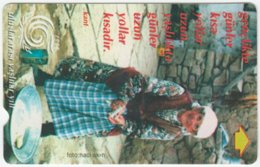 TURKEY A-934 Magnetic Telekom - Culture, Traditional People - Used - Turquie