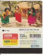 SOUTH KOREA - Kicking Tones(reverse Letter J, W5000), CN : MO9707122, 07/97, Used - Corée Du Sud
