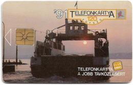 Hungary - Matáv - Balaton Ferry (No Moreno/Gemplus Symmetric Black) 07.91, Used - Hongrie