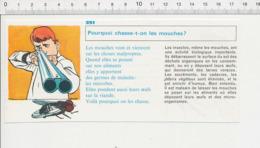 2 Scans Métier Infirmière Piqûre Seringue / Mouche Fisil De Chasse à Deux Canons Mouches Insecte  PF6 - Old Paper