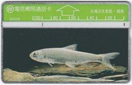 TAIWAN A-389 Hologram Telecom - Animal, Fish - 405D - Used - Taiwan (Formosa)