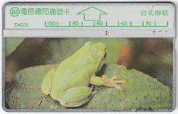 TAIWAN A-397 Hologram Telecom - Animal, Frog - 407F - Used - Taiwan (Formosa)