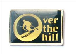 Pin's OVER THE HILL - Skieur - I698 - Pins