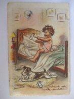 """SDV1019- GERMAINE BOURET -- """" CES BAS DE SOIE QUELLE CAMELOTTE... """"- - Bouret, Germaine"""