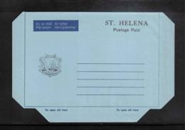 St. Helena Interesting Aerogramme - St. Helena