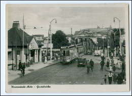 Y12239/ Wesermünde  Geestebrücke Straßenbahn AK Bremerhaven Ca.1950 - Germania