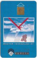 Hungary - Matáv - Image (Transparent Moreno (Over) / Gemplus Symmetric Black) 09.92, Used - Hongrie