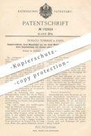Original Patent - Donato Tommasi , Paris , Frankreich , 1901 , Sammlerelektrode | Elektrode | Strom , Elektriker !! - Historische Dokumente