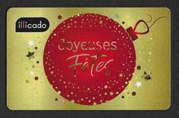 Carte Cadeau Illicado Noël 2019.   Gift Card.   Geschenkkarte - Gift Cards