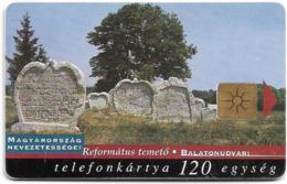 Hungary - Matáv - Balatonudvari - Chip Gem1B Not Symmetric White/Gold, 06.1998, 50.000ex, Used - Hongrie