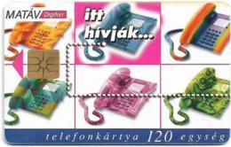 Hungary - Matáv - Digifon Hívásátirányítás - 12.1998, 50.000ex, Used - Hongrie