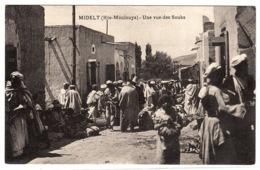 MIDELT (Hte-Moulouya) - Une Vue Des Souks - Marokko