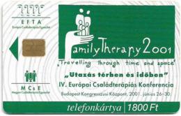 Hungary - Matáv - EFTA - 04.2001, 50.000ex, Used - Hongrie